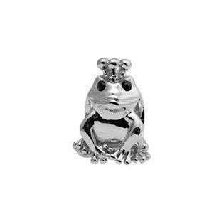Christina Collect Topaz Frog sølv charm